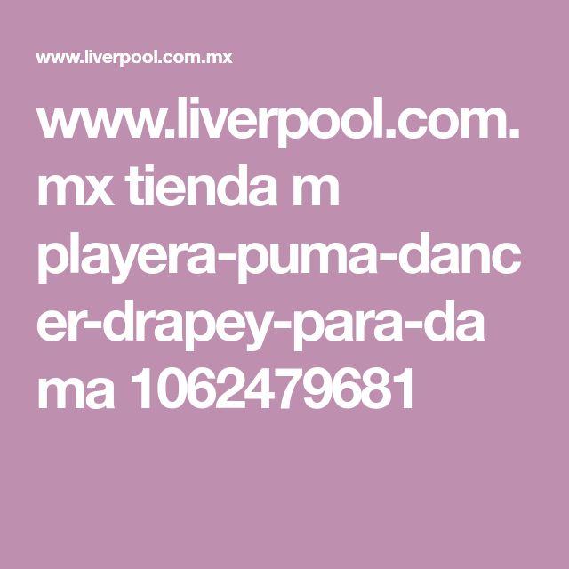 www.liverpool.com.mx tienda m playera-puma-dancer-drapey-para-dama 1062479681