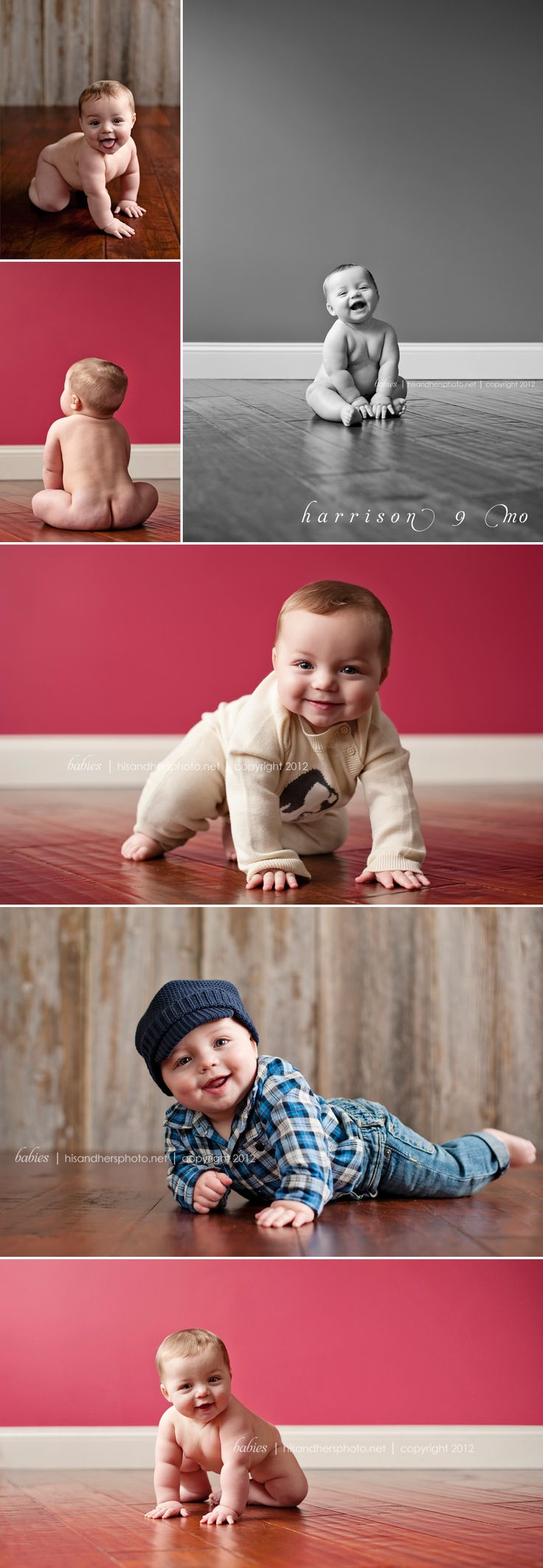 Baby Harrison is 9 months old | Des Moines, Iowa Photographer Darcy Milder | His & Hers