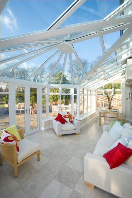 This beautiful conservatory in Cheshire features Pilkington Activ™ Blue allowing it benefit from both Self-cleaning and Solar-control properties