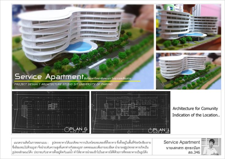 Service Apartment university of phayao chiangrai thailand by Seksan sutthapok