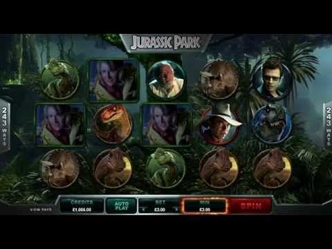 Jurassic Park™ Online Slot Game - Euro Palace - YouTube