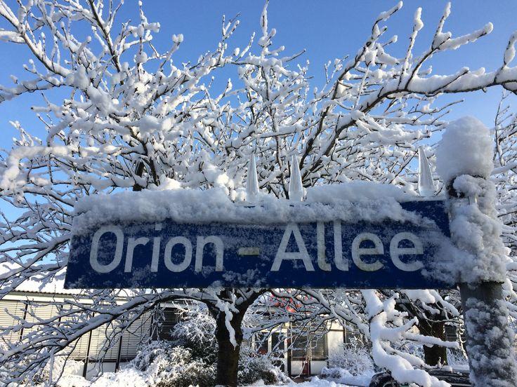 So romantisch unser Winterwonderland. ;-)