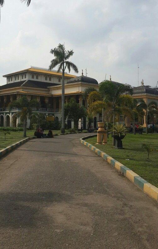 Maimoon Palace, Medan , Indonesia.