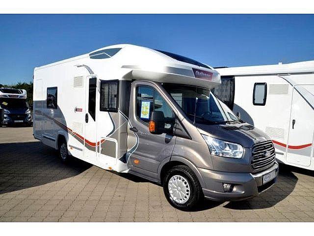 Challenger Mageo 377 Einzelbetten, Markise, Sat-Ant +TV+Solar, Wohnwagen/-mobile Teilintegrierter in Wertheim-Reinhardshof, gebraucht kaufen bei AutoScout24 Trucks
