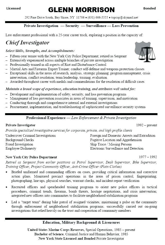 criminal justice cover letter - Seattlebaby.co