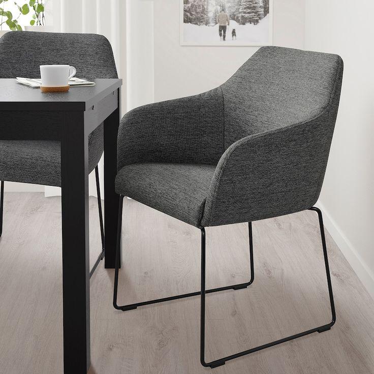 TOSSBERG Stuhl, Metall schwarz/grau   IKEA Deutschland ...