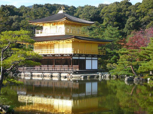 Japan 2007 - Golden Temple - Kyoto  Wayne & Elena - Globe Trotting Couple  www.facebook.com/globe.trotters.3