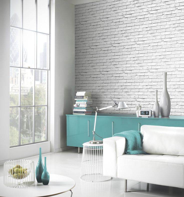 1000+ Ideas About White Brick Wallpaper On Pinterest