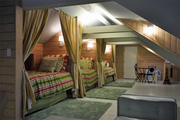 75 best images about multiple beds in one room on - Bunk beds for small rooms ...