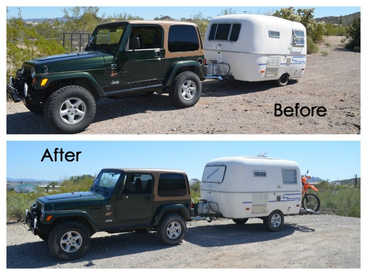 Scamp Lift, Before & After