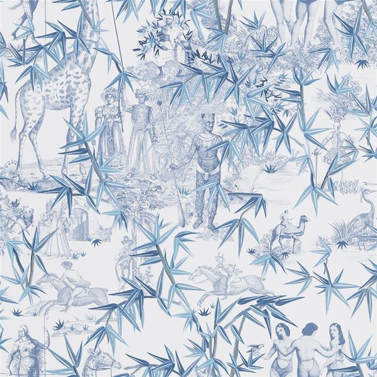 PCL1006/02 Exotisme Aube Designers Guild Wallpaper in