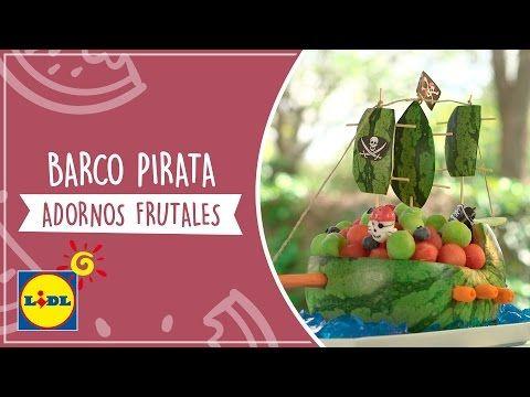 Barco Pirata - Adornos Frutales - YouTube