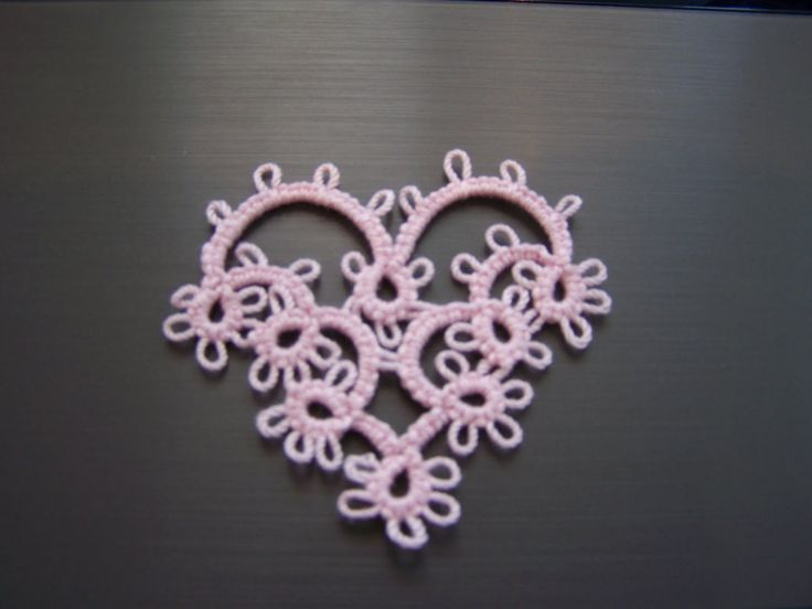 I really like the simplicity and lines of this heart motif!