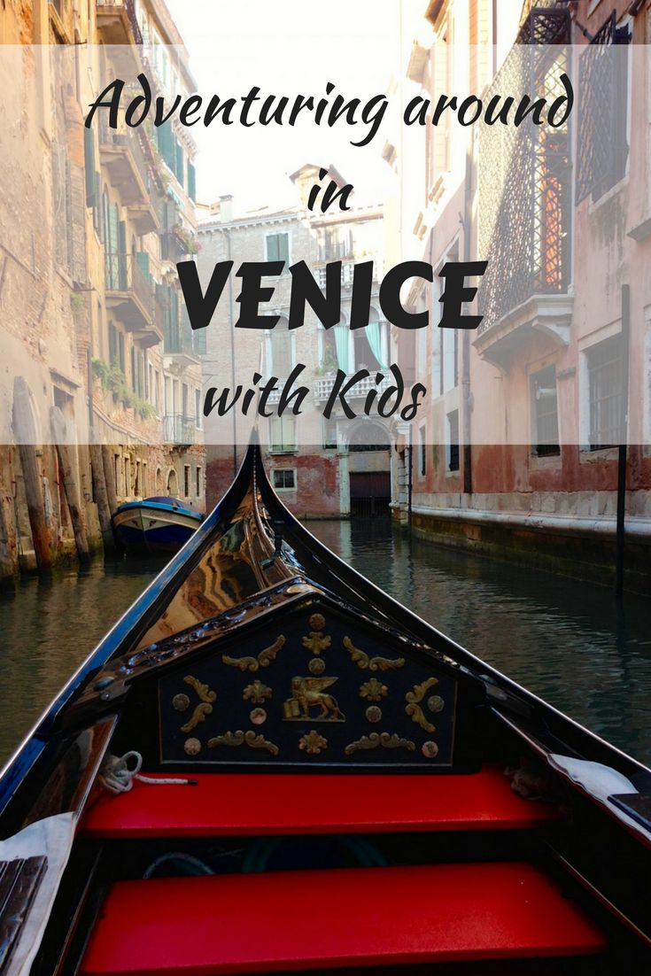 Venice, Italy is an amazing place to take the kids because it's so adventurous - think canals, boat rides, secret alley ways, island hopping and more. It proved to be one of our most favorite family vacations. Here is why. #Venice #Venicewithkids #familytravel