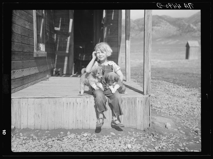 Arthur Rothstein. Daughter of farmer living in Resettlement Administration purchase area. Oneida County, Idaho. 1936 May. Library of Congress.