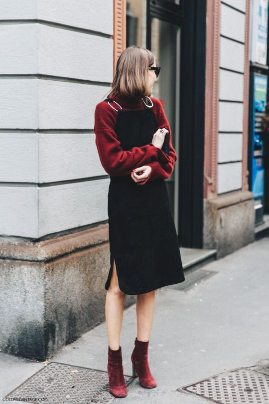This dress and jumper trend is off the charts, glad to see it returning this Spring Summer 2017!