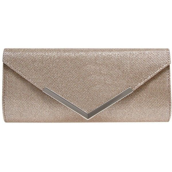 Carvela Daphne Envelope Clutch Bag (1 605 UAH) ❤ liked on Polyvore featuring bags, handbags, clutches, silver, silver evening purse, handbags clutches, purse clutches, silver purse and evening purses clutches