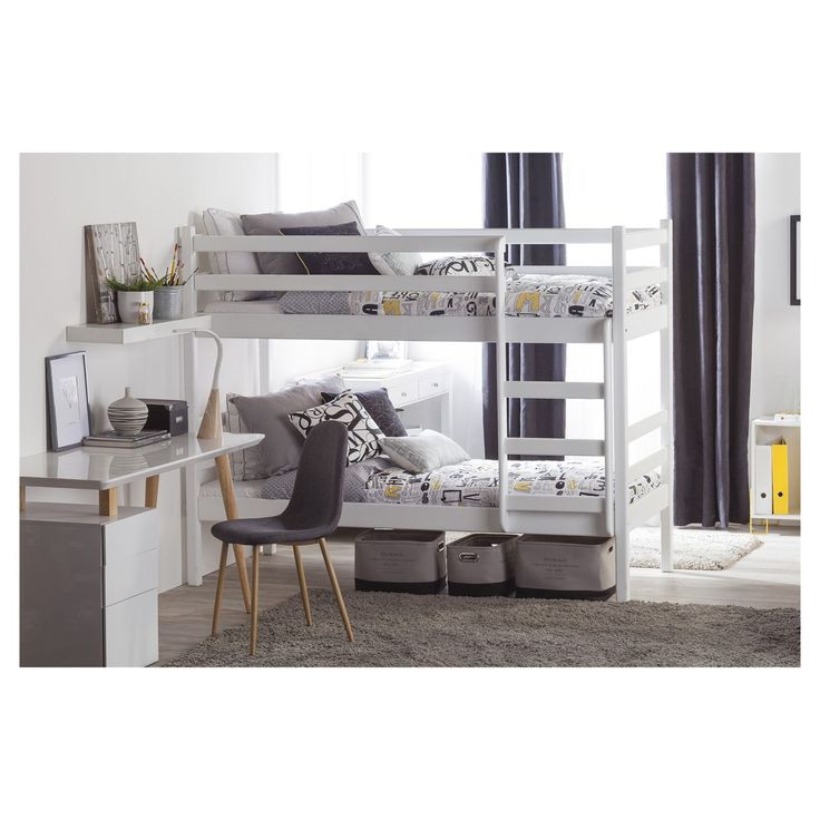 Camarote Condell blanco Plaza, Bedrooms, Loft, Interior Design, Mini, Furniture, Home Decor, 2nd Floor, Bedroom Interior Design