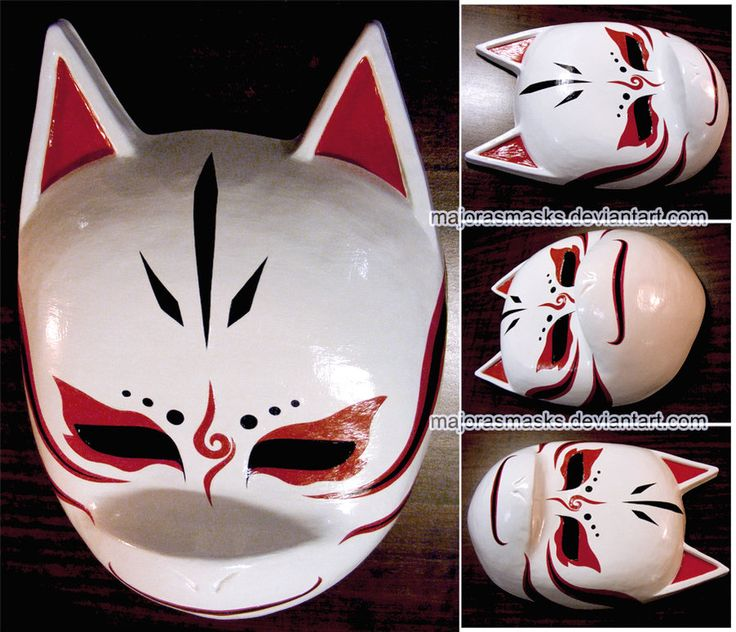 Custom Kakashi ANBU mask (altern. v.) | COMMISSION by MajorasMasks.deviantart.com on @DeviantArt
