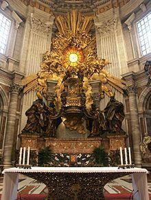 22 febbraio Chair of Saint Peter