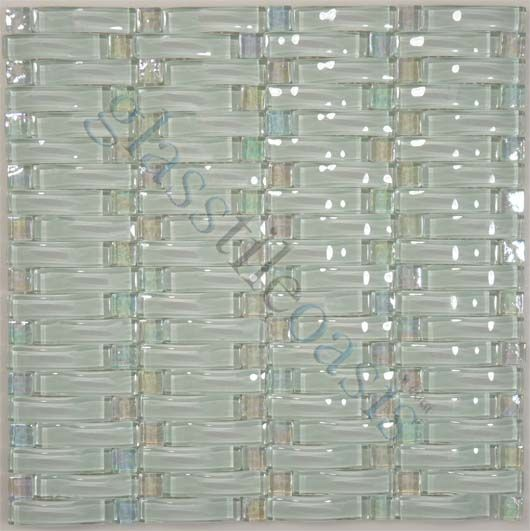 Universal Glass Designs Wave 3d Glass Series Weave Isis