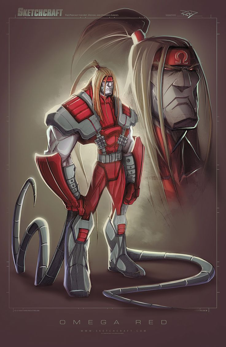 Omega Red by RobDuenas.deviantart.com on @DeviantArt