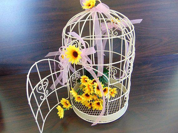 Wedding Birdcage Card Holder Wedding Card Holder Bridal