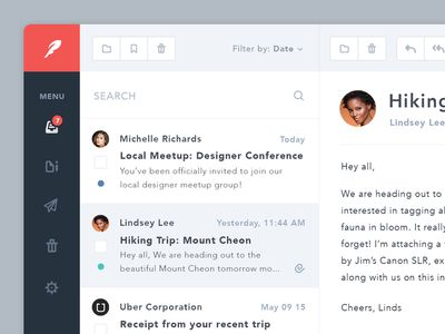 Simple Email App