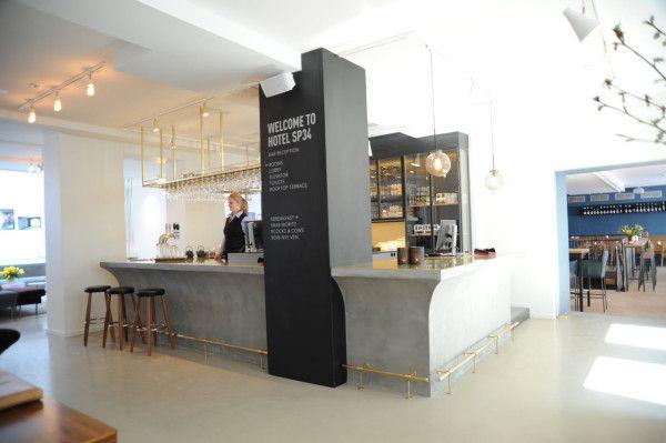 A Boutique Hotel in the Latin Quarter of Copenhagen in main interior design architecture  Category