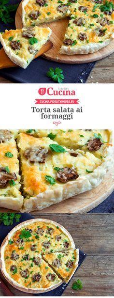 Torta salata ai #formaggi