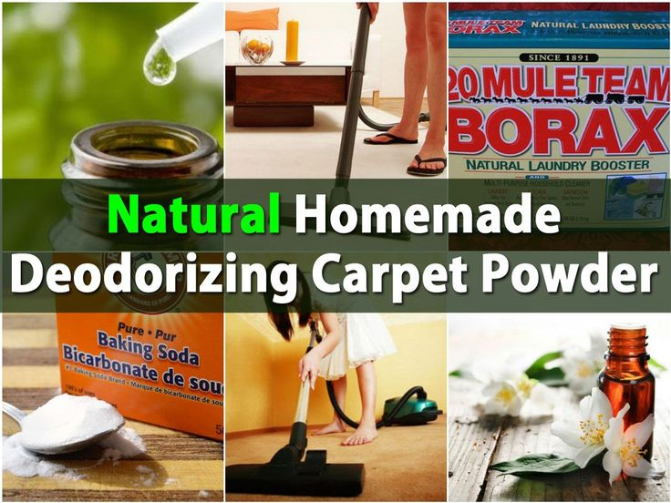carpet powders are great for eliminating odor and making your home smell nice some of