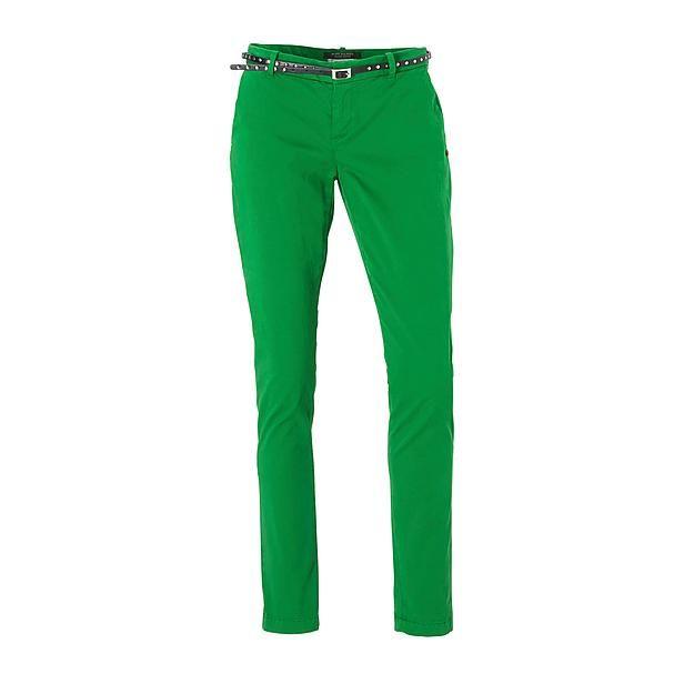 Scotch & Soda Slim Chino broek groen pants green trousers  Bestel nu bij wehkamp.nl
