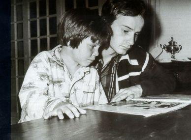 Gilles and Jacques Villeneuve