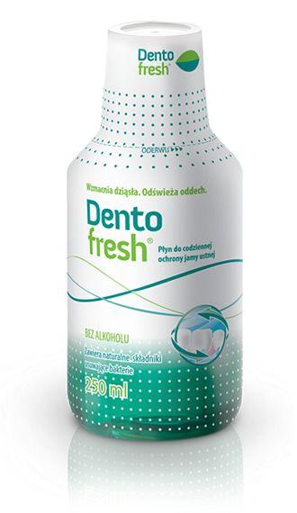 DentoFresh to płukanka do ust dla dorosłych i dzieci powyżej 6. roku życia. Płukanki DentoFresh nie zawierają alkoholu. #płyndopłukaniaust #dentofresh