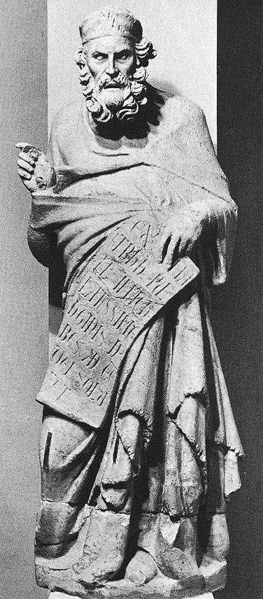 Платон. Джованни Пизано. Около 1280 г.