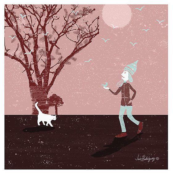 Gato Blanco - Digital