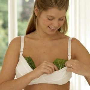 For Sore Breasts During Breastfeeding | 21 Unexpected Ways To Relieve Pain Placing cabbage leaves over your breasts will quell the pain and swelling. Please note though, that use of cabbage leaves should be done only toward the end of weaning, when the goal is to dry up your milk.