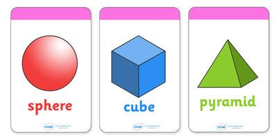 pictures of 3d shapes and their names | 3D Shape Flashcards (inc. Shape Names) - 3D Shape names, Shape ...