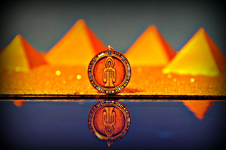 """The Knot of Isis (Tyet or Blood of Isis) is a Symbol of Protection.  It is spoken of in the Egyptian Book of the Dead; """"You possess your blood, Isis. You possess your power, Isis. You possess your magic, Isis. The amulet is a protection for this Great One.""""  Pendant Size : 30mm Diameter x 6mm Depth  All pendants arrive to you packaged with love & joy in a unique handcrafted jewellery box."""