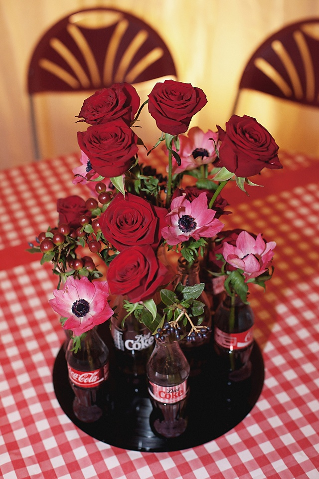 Beautiful centerpiece mary s favourite red gingham and