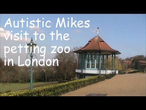 Autistic Mikes visit to the petting zoo in London