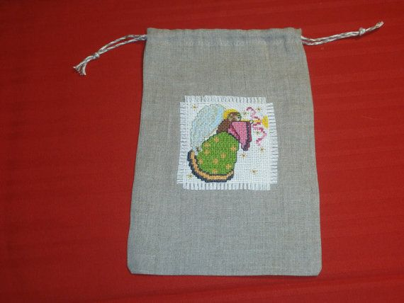 Original Christmas Gift Linen  Packaging Only 1 by pointartgame
