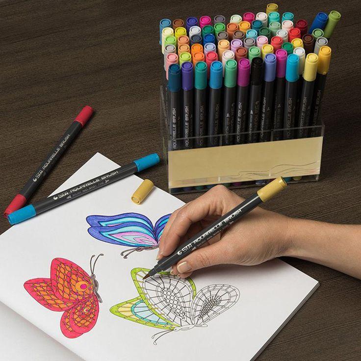 картинки рисовать фломастерами и карандашами экране герой
