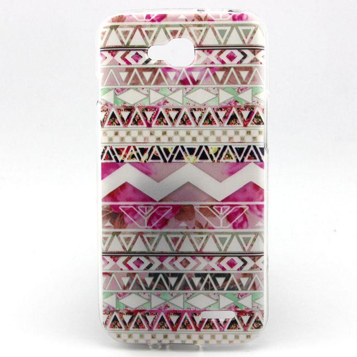 Премиум тпу гель устойчивое к царапинам защитный чехол для LG L90 племенной стиль телефон чехол