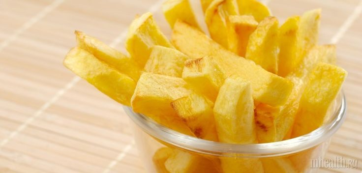 Как приготовить полезный картофель фри в духовке