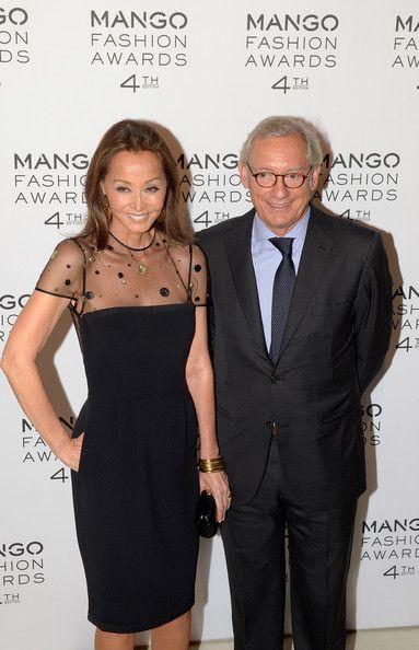 Isabel Preysler - Mango Fashion Awards 2012 - Gala
