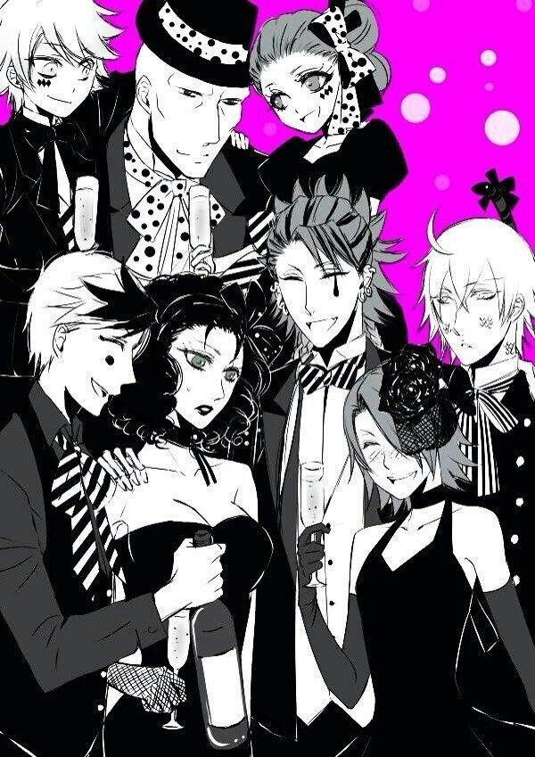 Black butler, Kuroshitsuji, Doll, Jumbo, Joker, Dagger, Snake, Black butler, Kuroshitsuji, Beast, Peter, Wendy