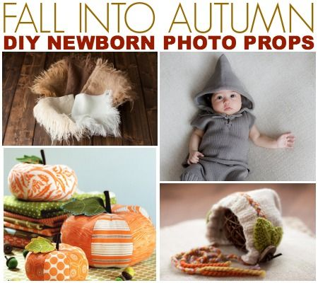 Fall Into Autumn: DIY & Handmade Newborn Photography Props