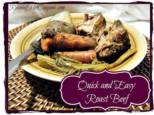 Quick and Easy Roast Beef Recipe