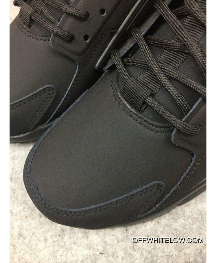 c1d9f1f42b85 For Sale Nike Air Huarache High Top Acronym Running Shoes Black 856787-009